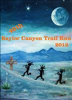 Baylor Canyon Trail Run - August 18, 2012