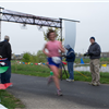 A blur through the start/finish line