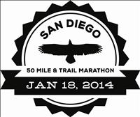 San Diego 50 and Trail Marathon - January 18, 2014