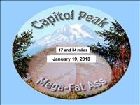 Capitol Peak Mega Fat Ass - January 19, 2013