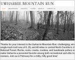 Uwharrie Mountain Run - February 04, 2012