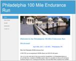 Philadelphia 100-Mile Ultra Run - April 20, 2013