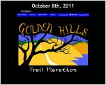 Golden Hills Marathon - October 12, 2013