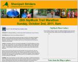 NipMuck Trail Marathon - September 30, 2012