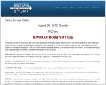 Swim Across Suttle - August 26, 2012