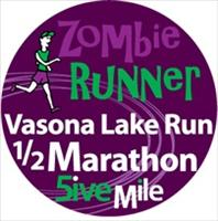 Zombie Runner - Vasona Lake (Winter) - February 23, 2013